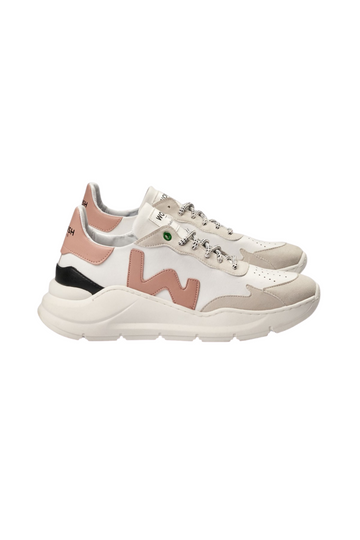 Vegan Wave White Rose Sneaker