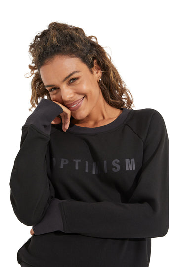 Optimism Sweatshirt - Black
