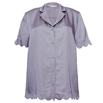 Jane Short Shirt - Purple