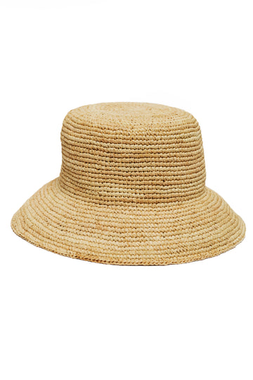 Cannes Bucket Hat - Natural