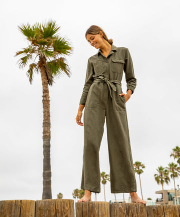 Scout Jumpsuit - Safari