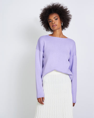 Williamsburg Sweater - Lavender