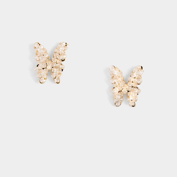 Swallowtail Stud Earrings