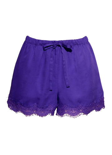 Carry Pajama Shorts - Purple