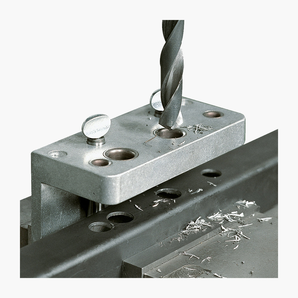 Drill Jig for Surface Mounted Locks - Edgesmith