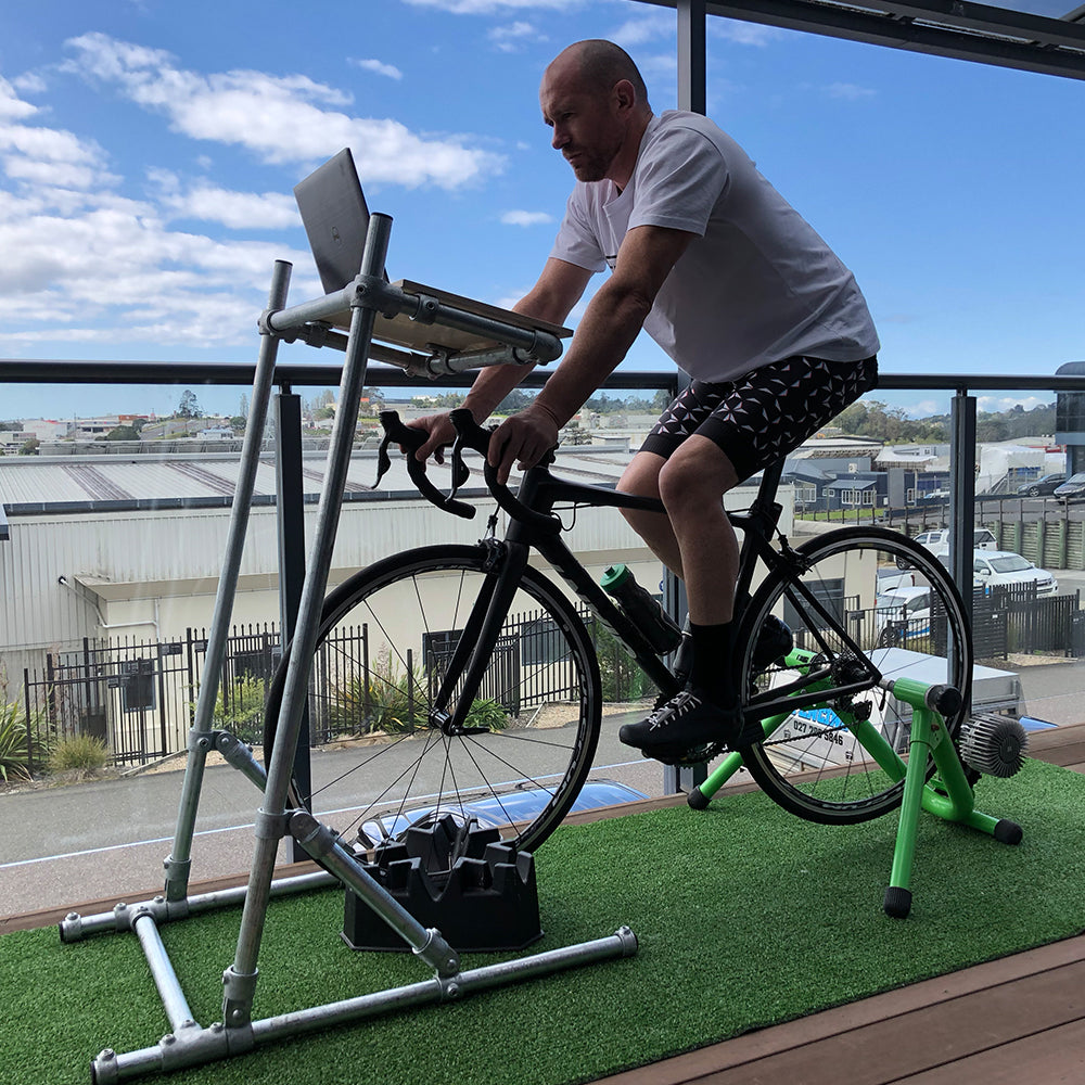 Indoor Cycling Desk