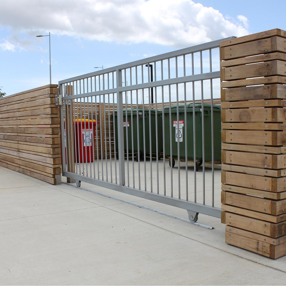 The Chiefs Gate-Hot Dip Galv Steel Gate-FenceLab