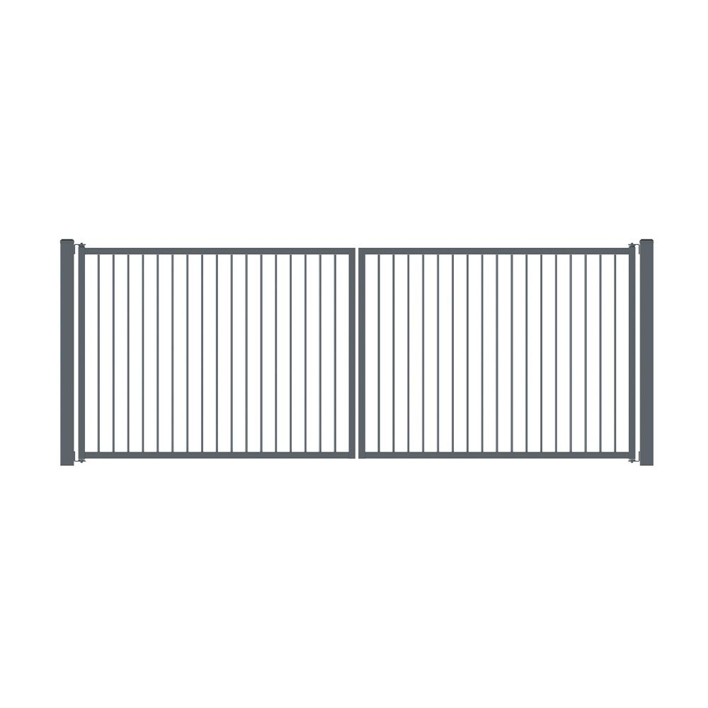 The Orbison Gate-Economic Aluminium Gate-FenceLab