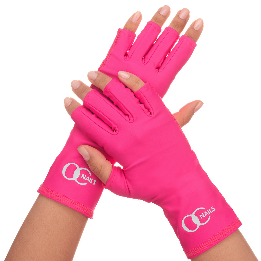 UV Shield Glove - HOT PINK