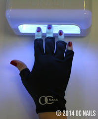 UV Shield Glove ~ BLACK NIGHT