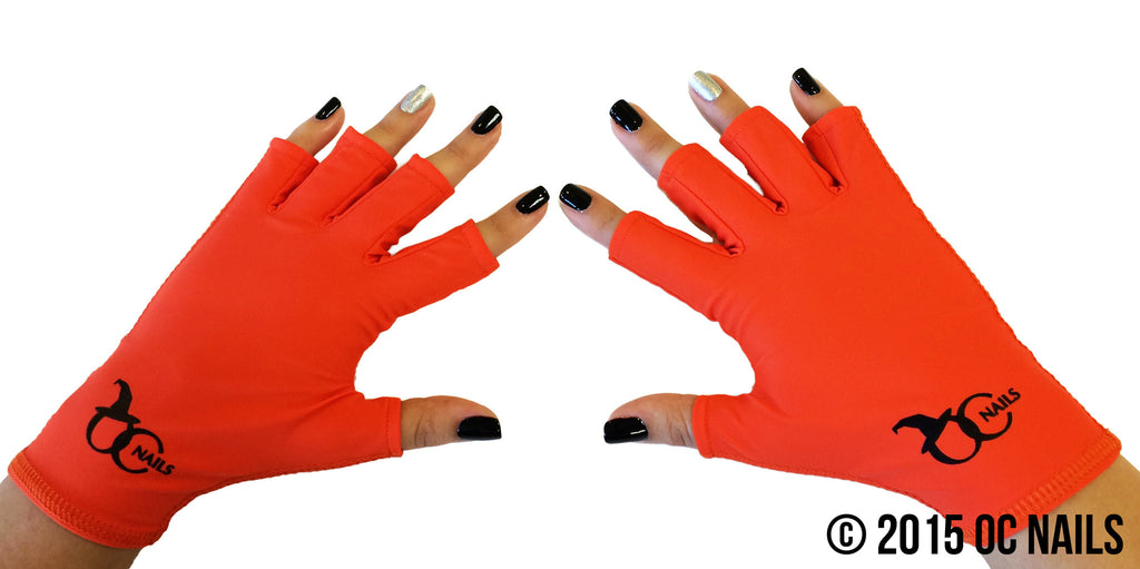 UV Shield Glove ~ SALON WITCH (ORANGE)