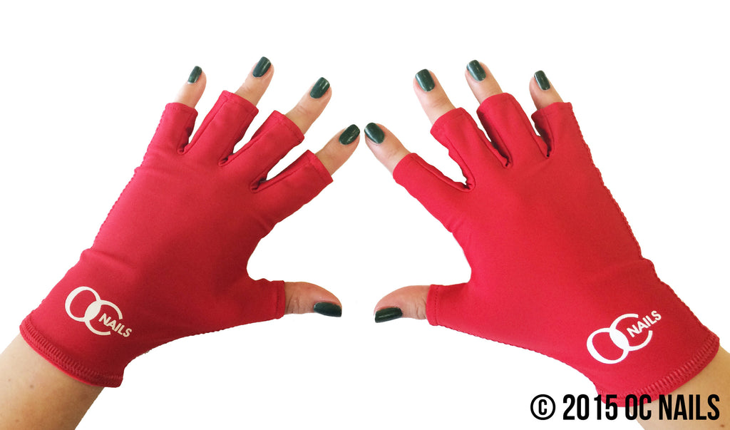 UV Shield Glove ~ LIPSTICK RED