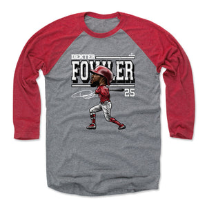 Dexter Fowler Men's Baseball T-Shirt | 500 LEVEL