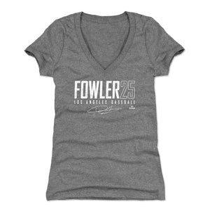 Dexter Fowler Women's V-Neck T-Shirt | 500 LEVEL