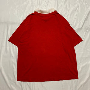 red strawberry design T-shirt
