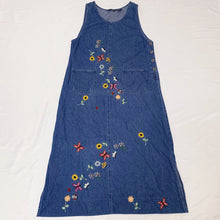 Load image into Gallery viewer, denim design dress