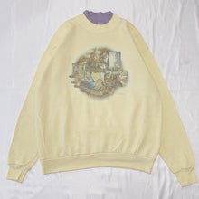 Load image into Gallery viewer, yellow bear design sweatshirt