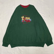 Load image into Gallery viewer, green bear design sweatshirt