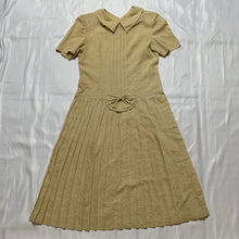 Load image into Gallery viewer, beige ribbon dress