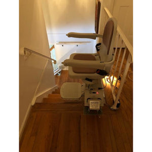 Acorn/Brooks Stairlifts for 90º/180º Curved Staircase, Free Rail Customization, Free 24/7 Tech & Install Support, & 1 Yr Parts Warranty (DIY)