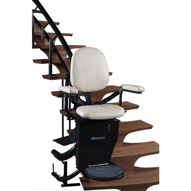 Helix U.S.A. Custom Made Stair Lift - Free Standard Installation, Free Annual In-home Service, & Free Design Consultation