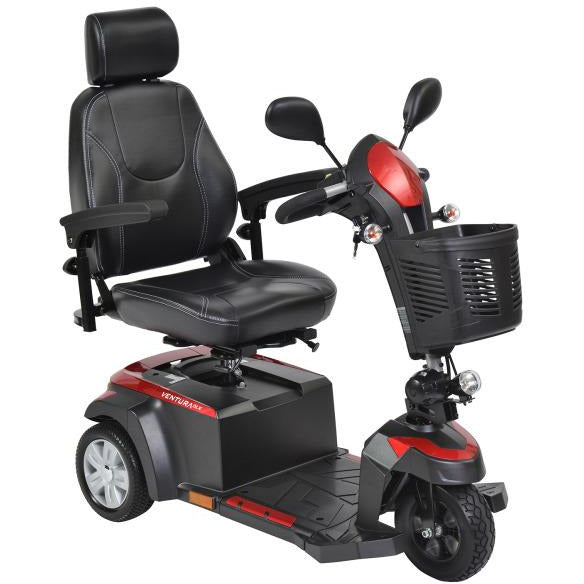 "Ventura 20"" Wide Seat Deluxe 3 Wheel Mobility Scooter"