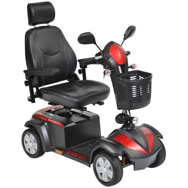 "Ventura 20"" Wide Seat Deluxe 4 Wheel Mobility Scooter"