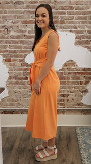 Orange Crush Jumpsuit
