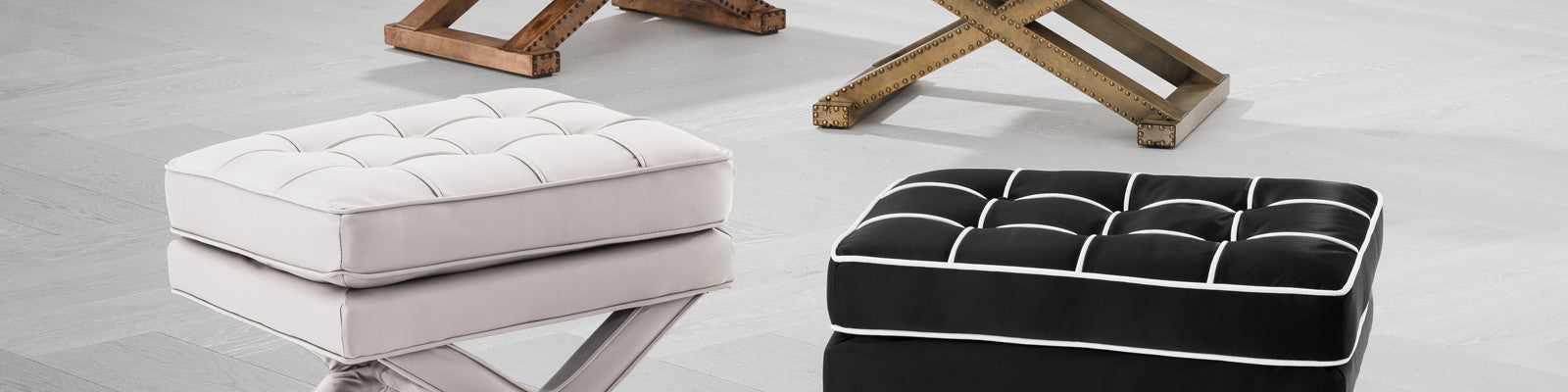 Eichholtz Stools & Ottomans | Living Room Furniture | OROA - Modern & Luxury Furniture Online