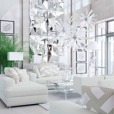 Merveilleux Create A Huge Wow Factor When Decorating A Room With An All White Color.  Create That Modern Miami Home Look U0026 Feel With An Eclectic White Interior.