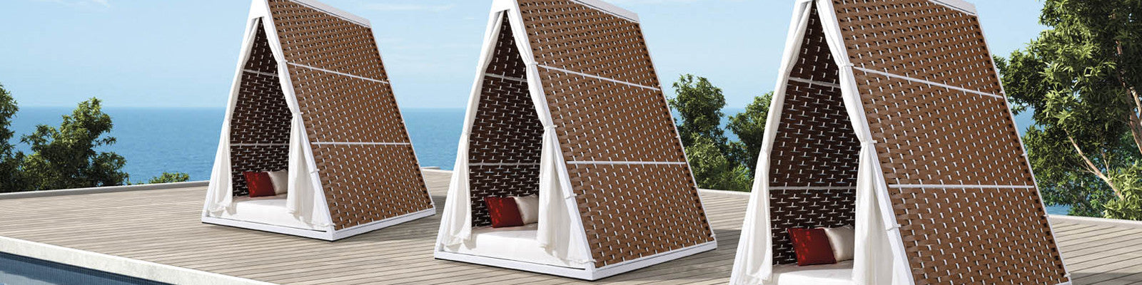 Daybeds & Cabanas | OROA - Luxury Outdoor Furniture Online