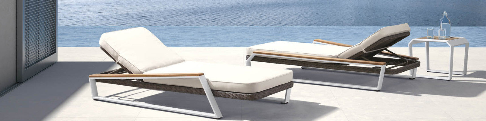 Outdoor Chaise Lounges | OROA - Luxury Outdoor Furniture Online