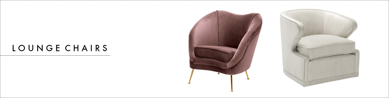 Eichholtz Lounge Stolar | OROA - Prisvärd Luxury Furniture Online