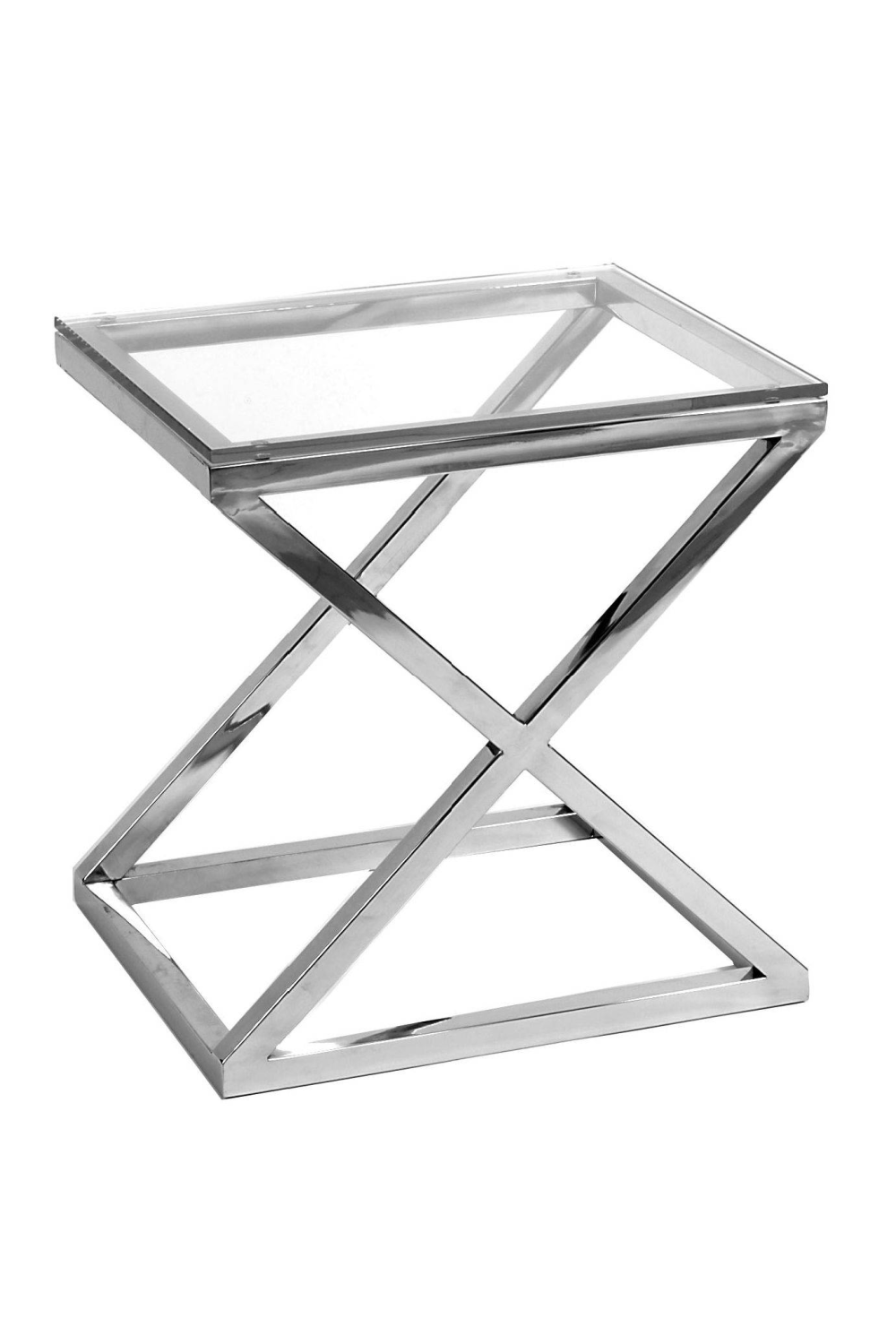 Glass Side Table | Eichholtz Criss Cross |#1 Eichholtz Online Retailer