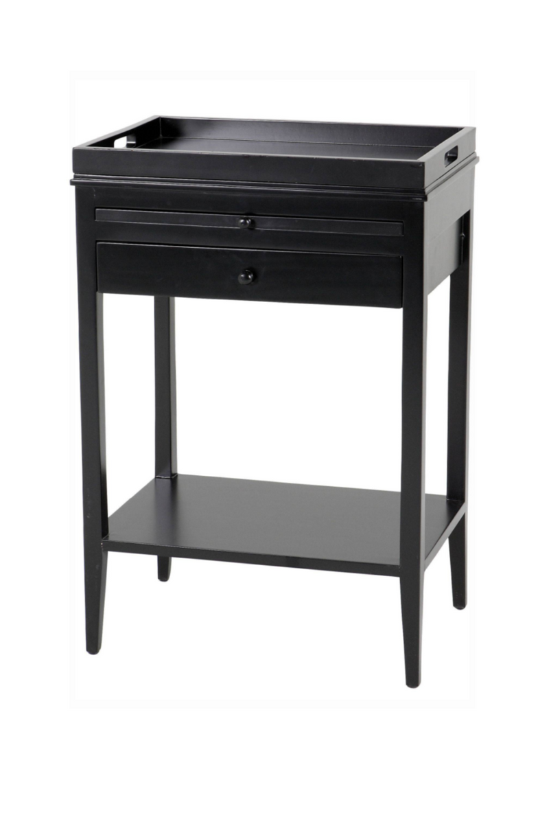 Black Side Table | Eichholtz Broomer |