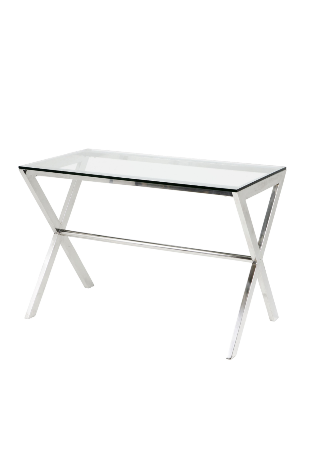 Glass Home Desk | Eichholtz Criss Cross | #1 Eichholtz Retailer