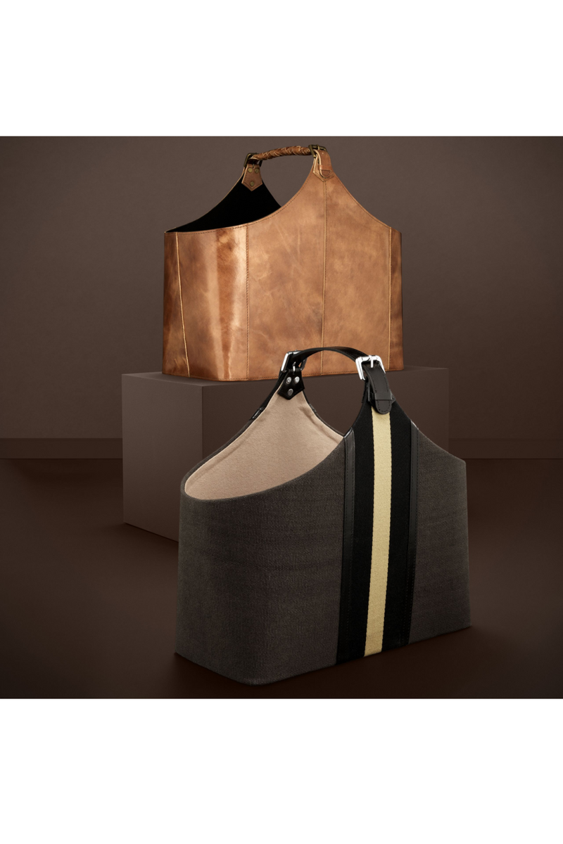 Brown Leather Bag | Eichholtz Brunello