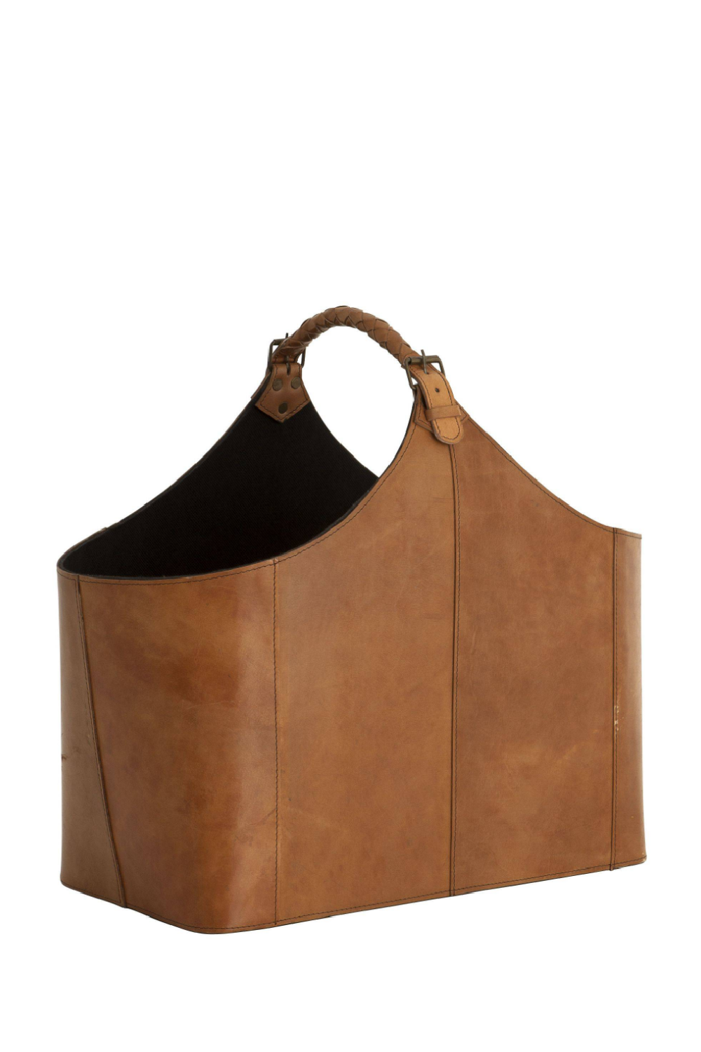 Brown Leather Bag | Eichholtz Brunello | OROA Modern Furniture