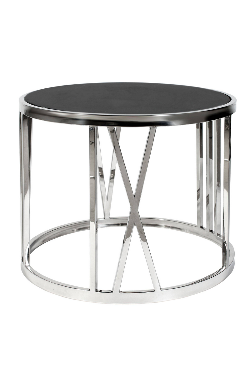 Black Side Table | Eichholtz Roman Figures |