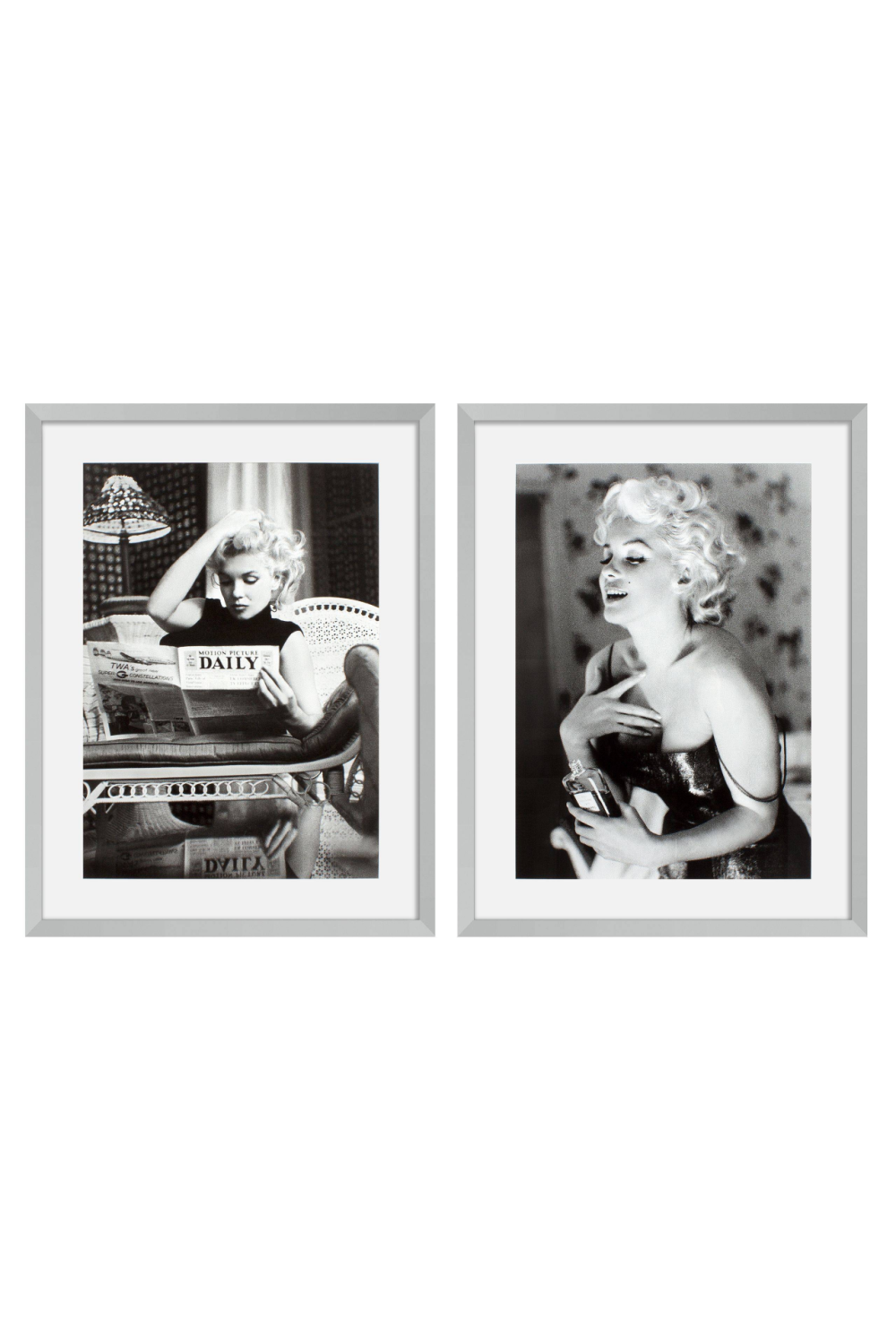 Portrait Print (set of 2) | Eichholtz Marilyn Monroe | Woodfurniture.com