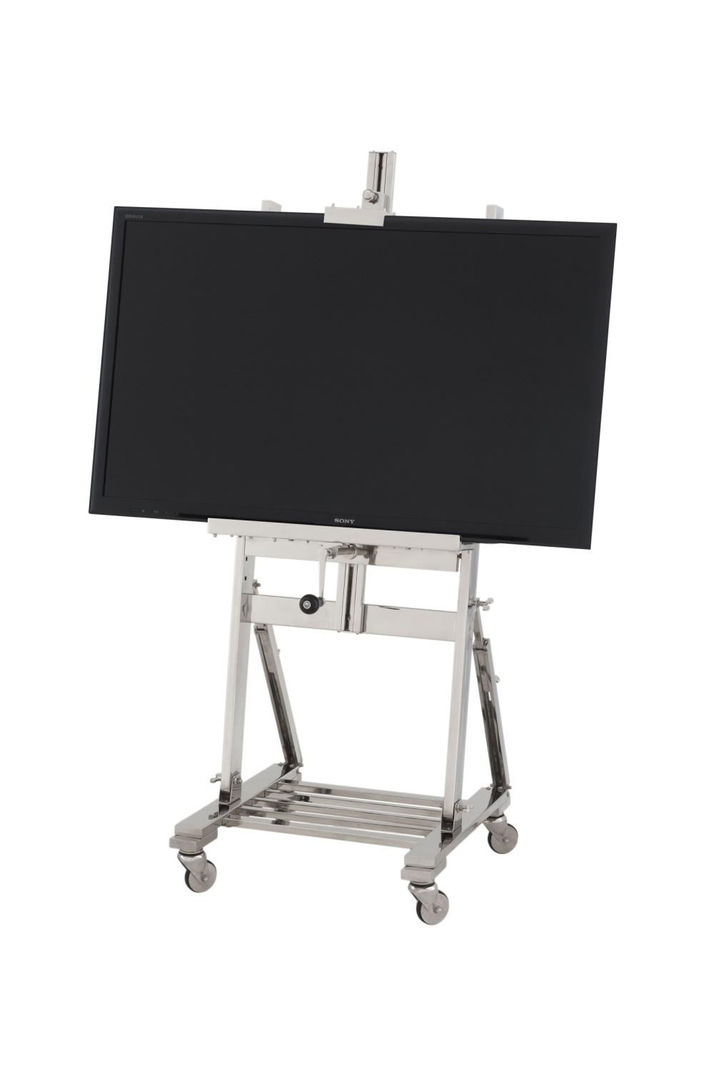 Silver TV Easel on Wheels | Eichholtz | #1 Eichholtz Online Retailer