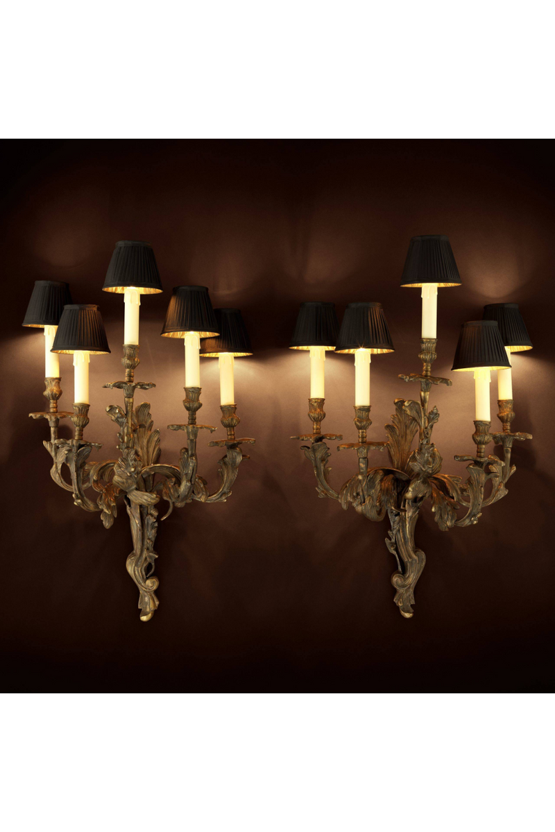 Candle Stick Wall Lamp Set Of 2 | Eichholtz Pompadour | OROA Lighting