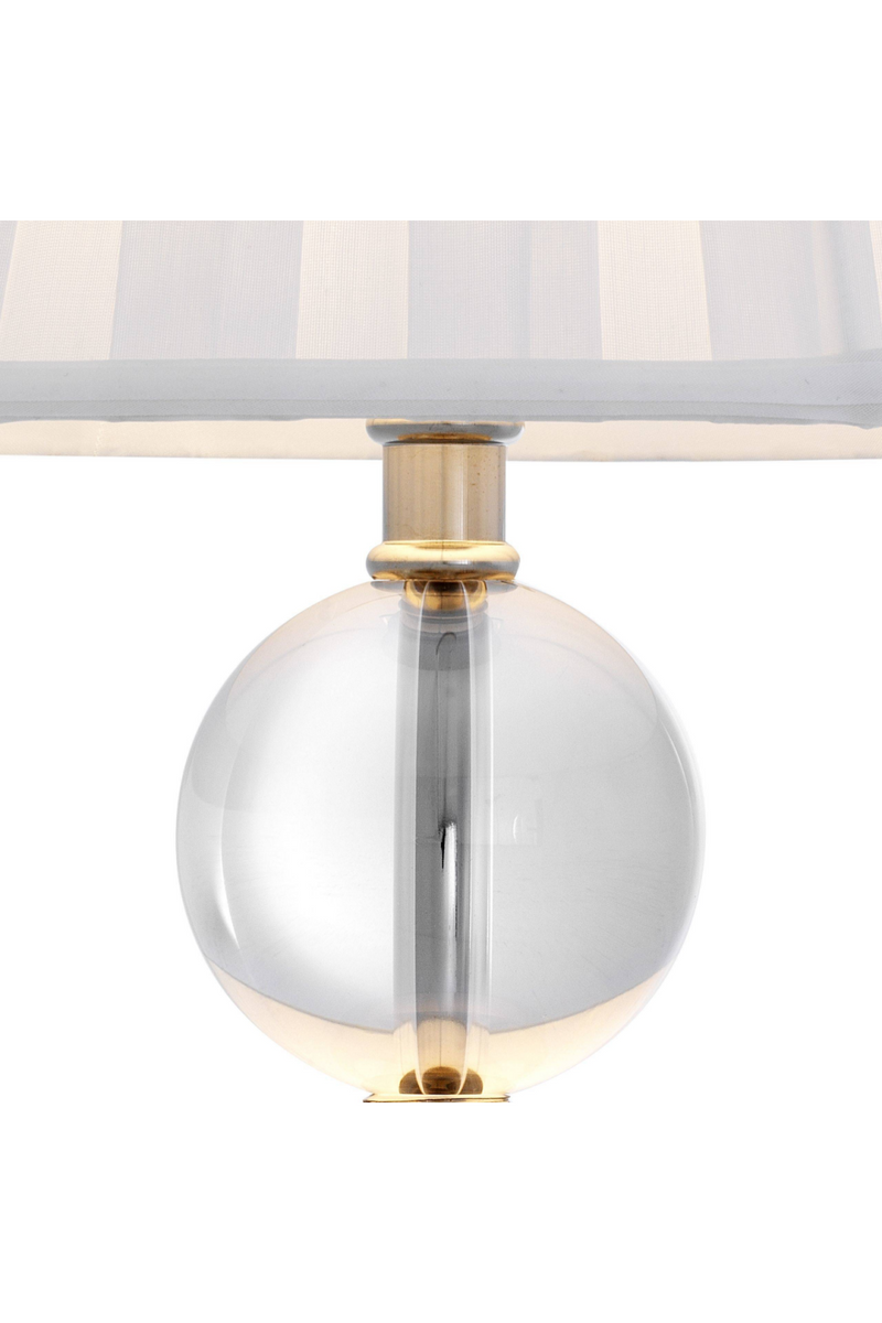 Crystal Spheres Table Lamp | Eichholtz Lombard |