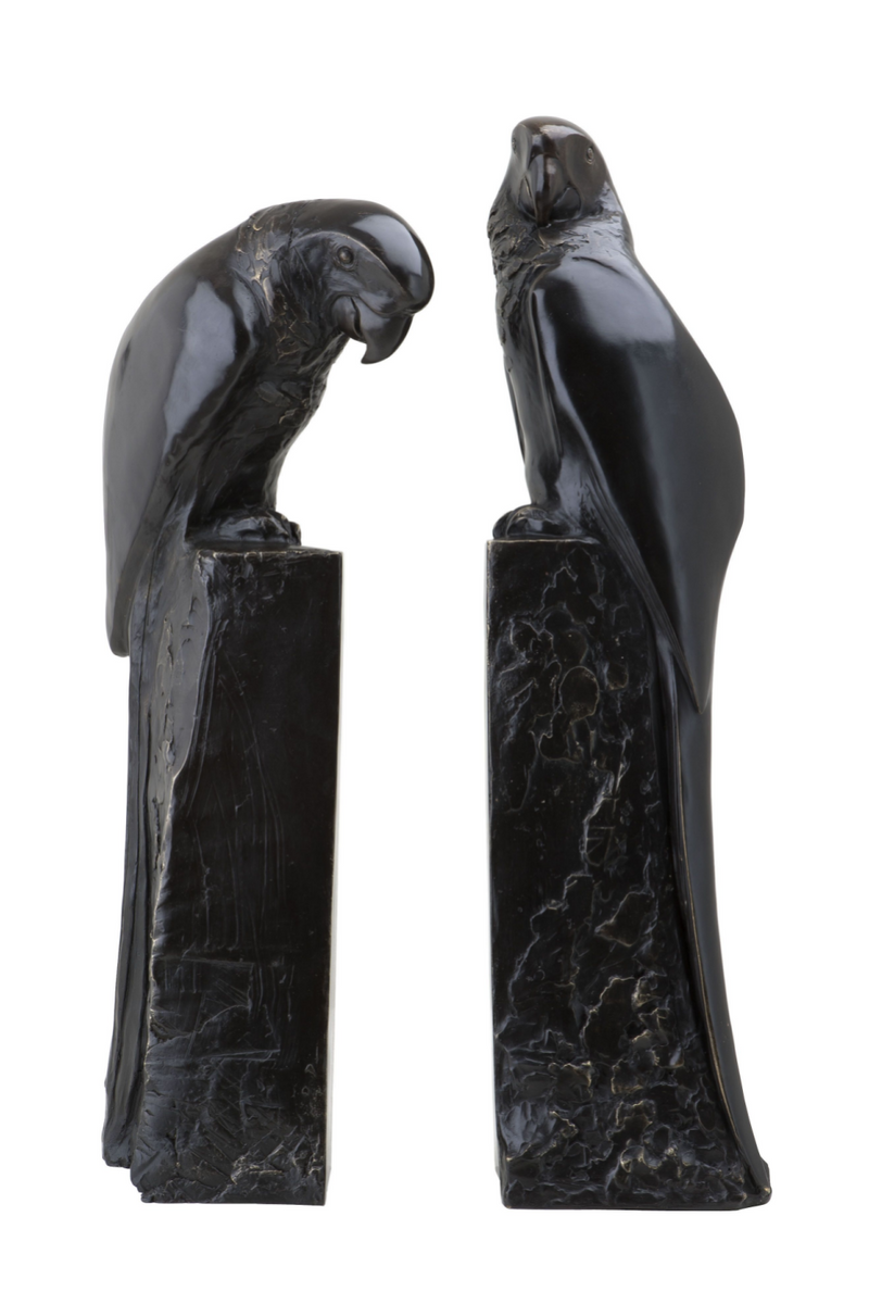 Bronze Bookend Set of 2 | Eichholtz Perroquet | OROA Modern Furniture