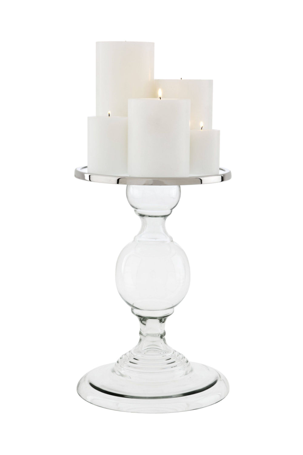 Glass Candle Holder - L | Eichholtz Providence | OROA