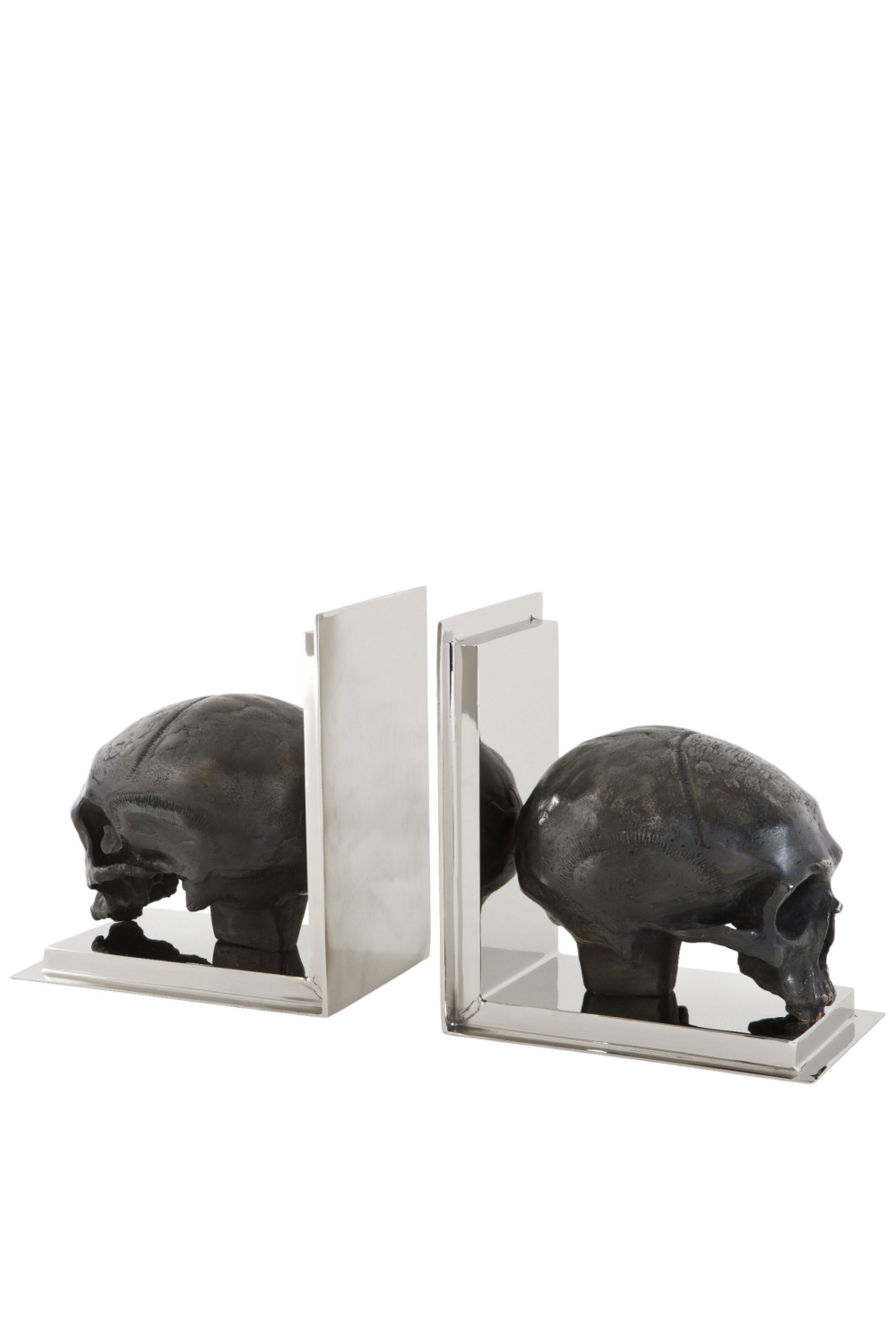Skull Bookends set of 2 | Eichholtz | #1 Eichholtz Retailer