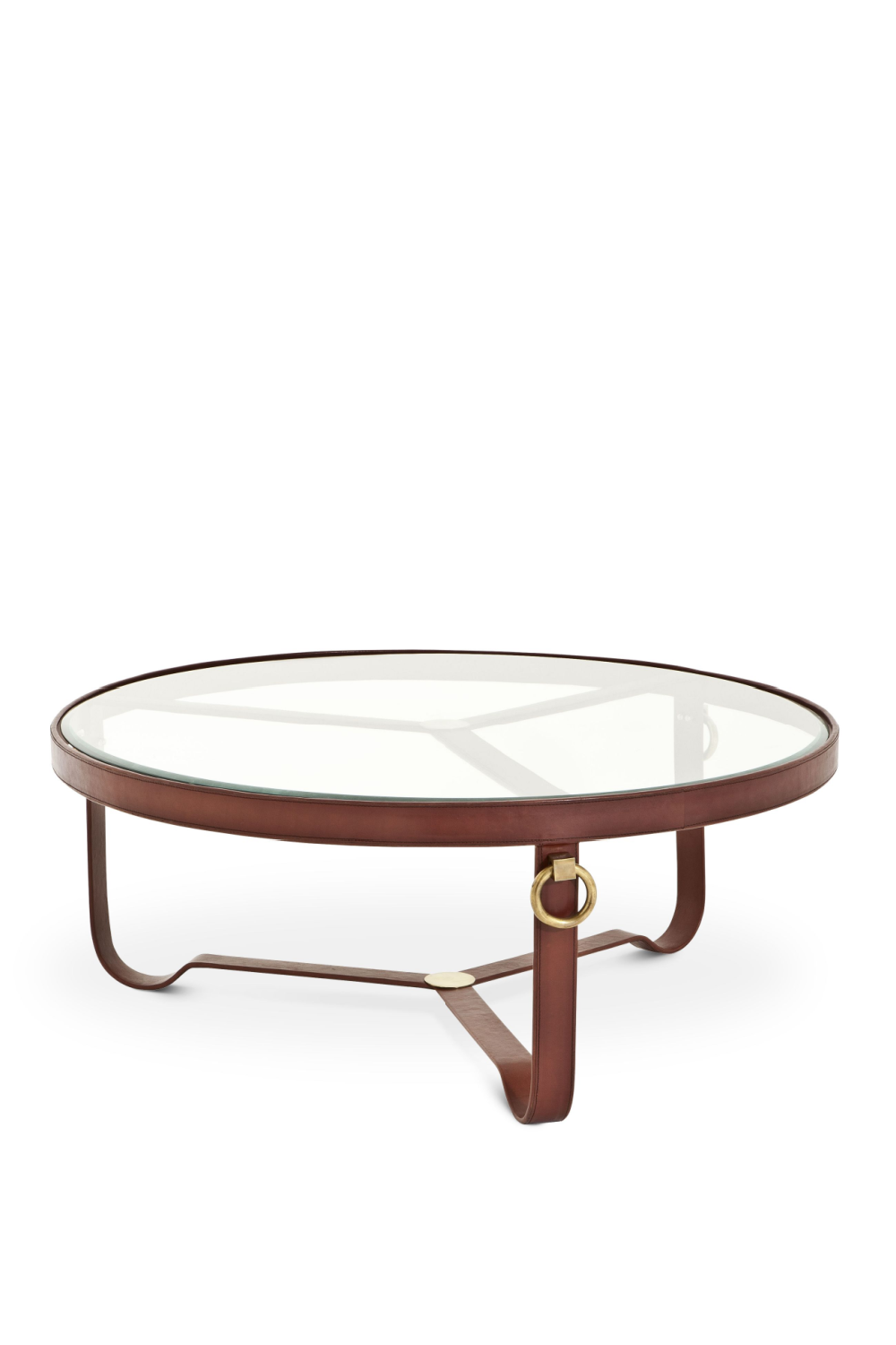 Round Glass Coffee Table | Eichholtz Belgravia | OROA Furniture