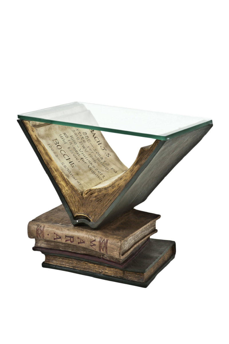 Antique Side Table | Eichholtz Old Books |