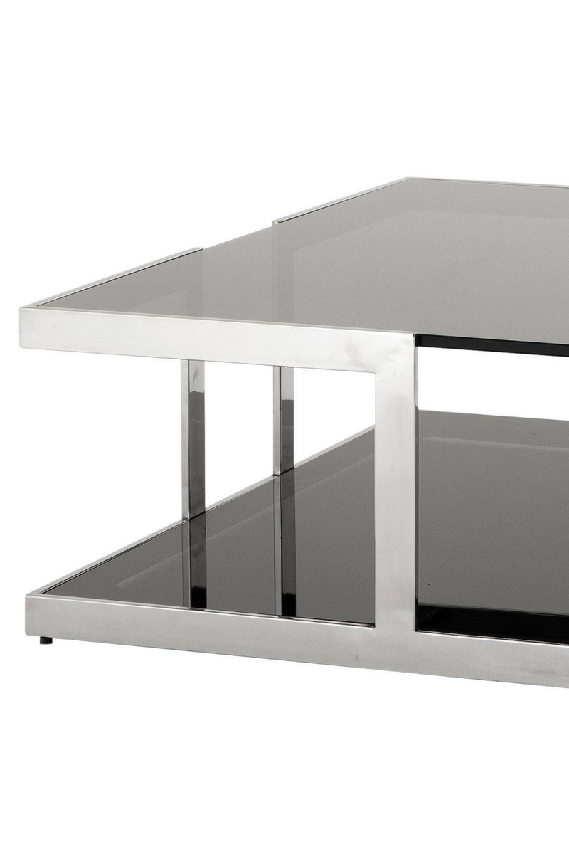 Square Glass Coffee Table | Eichholtz Treasure | 1