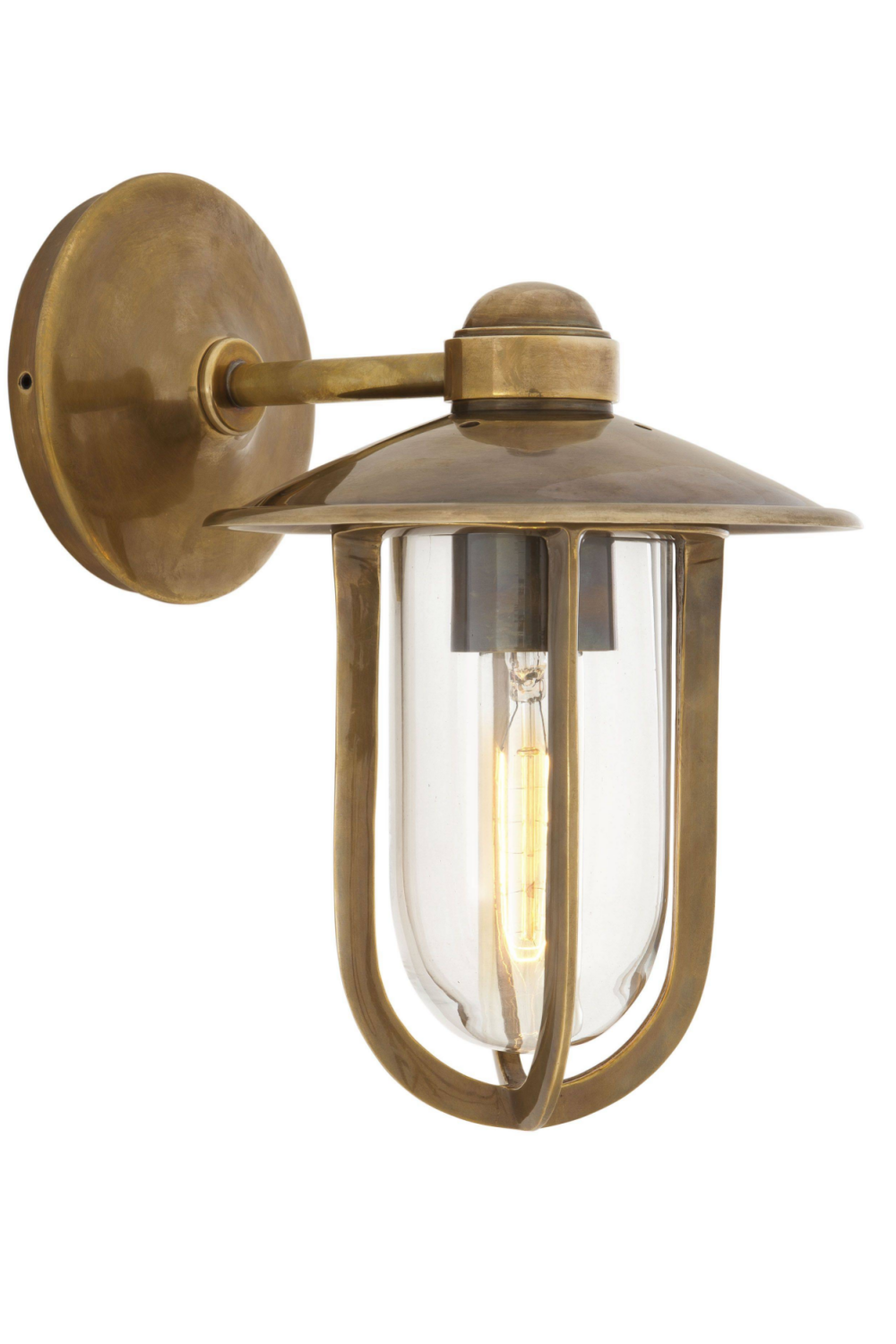 Metal Shaded Wall Lamp | Eichholtz Seg Harbour | OROA Luxury Lighting